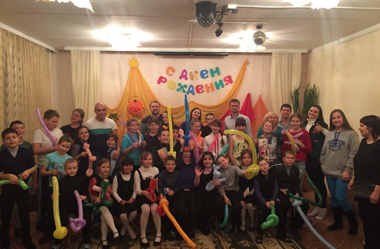 Реабилитационный центр «Чистое небо»  провел акцию для детей из «Улыбки»