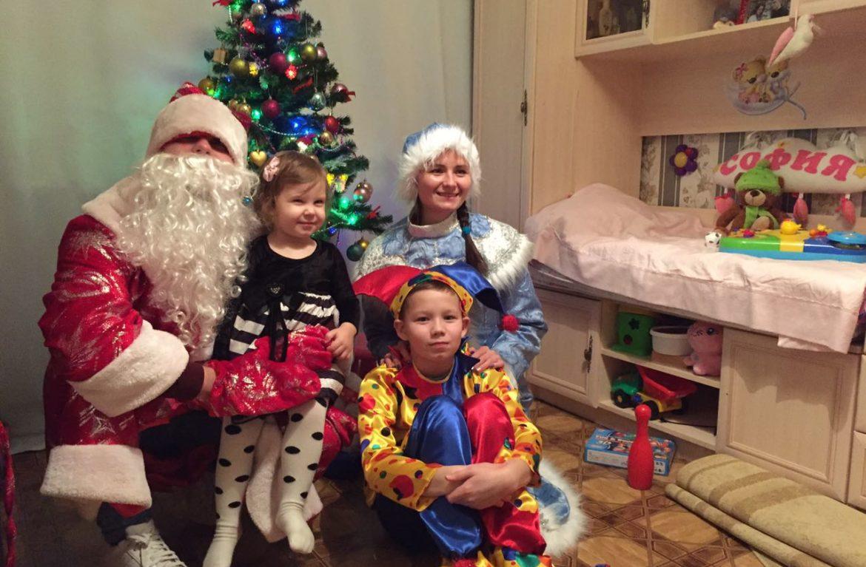 Реабилитационный центр «Чистое небо» поздравил детей с праздником