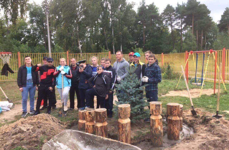 Реабилитационный центр в Нижнем Новгороде провел субботник