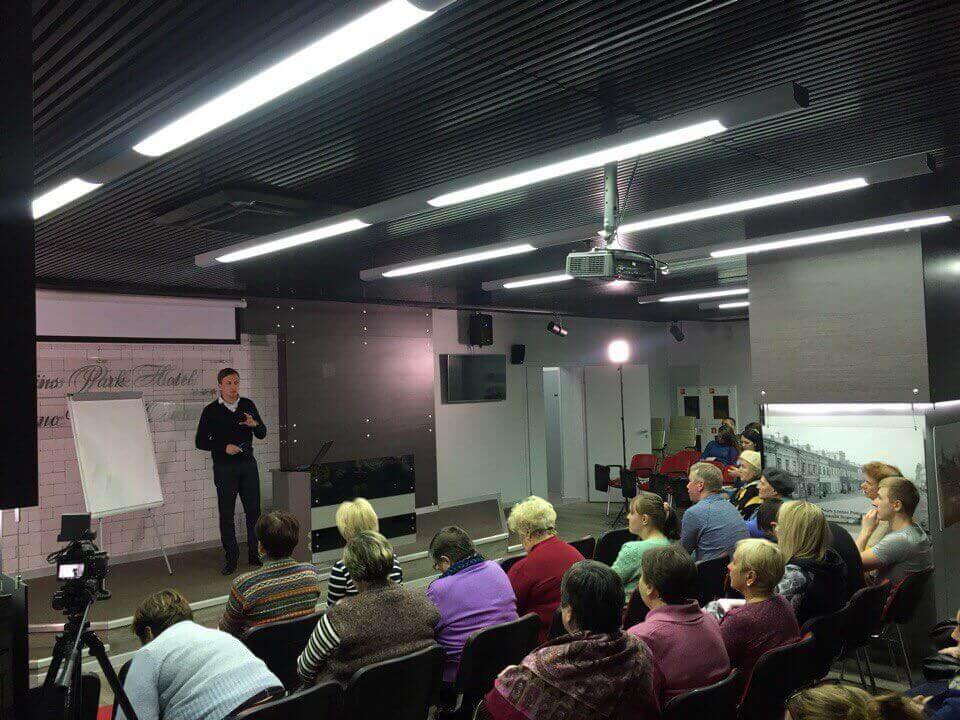 В центре реабилитации в Нижнем Новгороде прошел семинар-тренинг