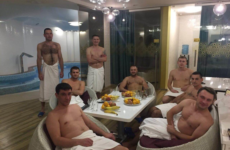 Посещение бани — тимбилдинг и оздоровление в АНО «Чистое небо»