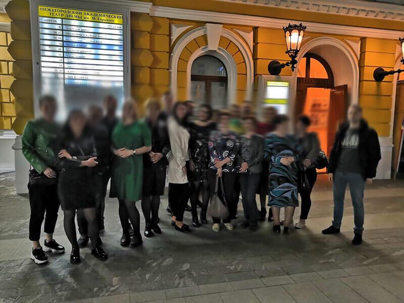 Досуг в театре комедии АНО «Чистое Небо»