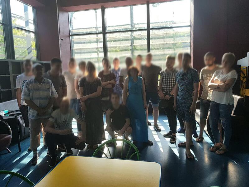 АНО «Чистое Небо» посетили и провели досуговый вечер в кинотеатре «Электрон»