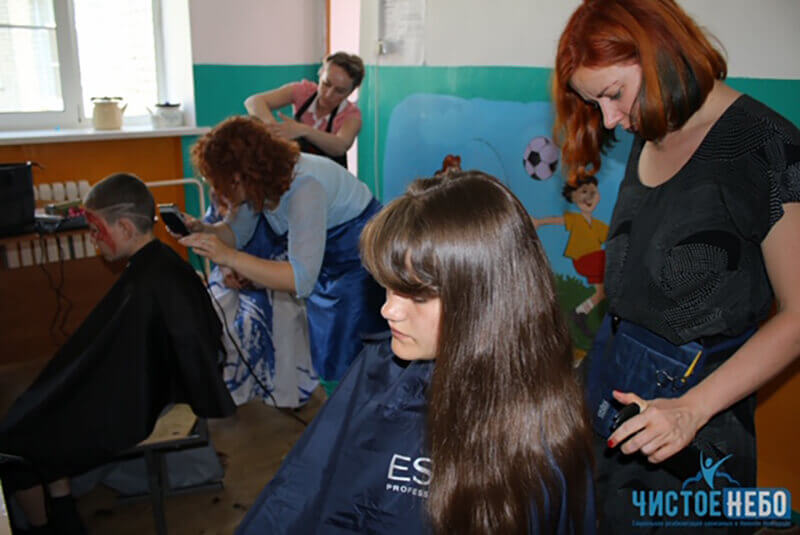 """АНО """"Чистое Небо"""" совместно с компанией ESTEL посетили детский реабилитационный центр"""