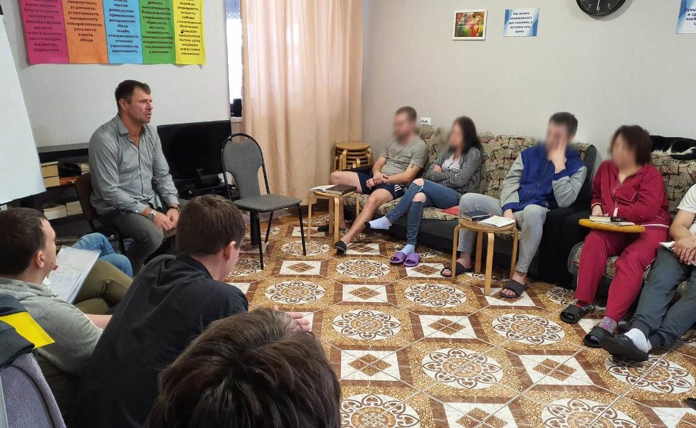 На этой неделе нашу организацию посетил спикер Роман Русаненко
