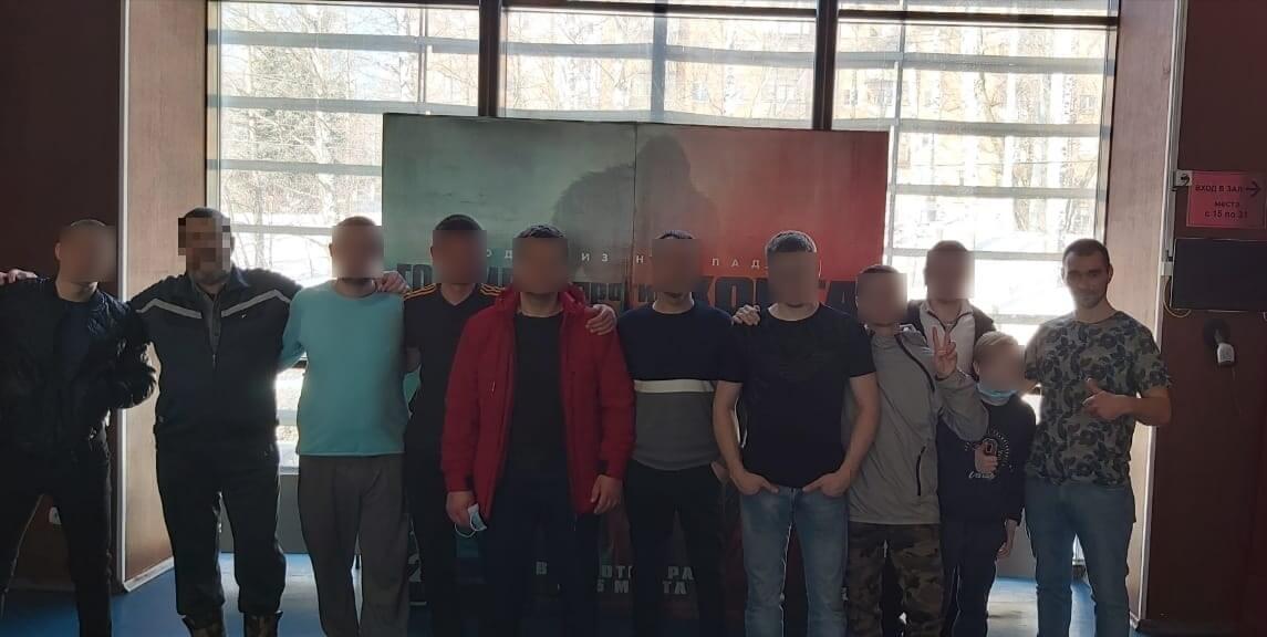 Реабилитационный центр посетил кинотеатр в Нижнем Новгороде